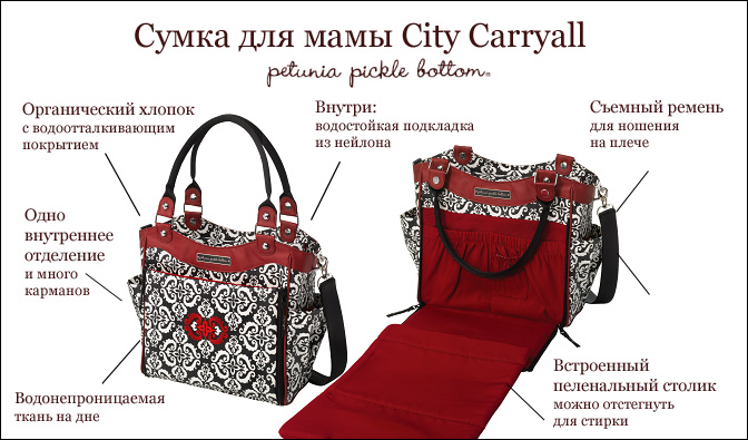 Сумка для мамы City Carryall