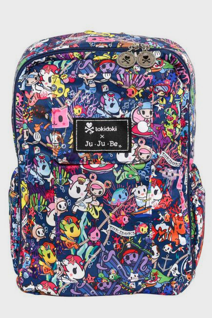 Рюкзак для мамы Ju-Ju-Be - Mini Be, Tokidoki Sea Punk