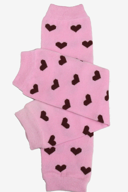 """Слингогетры (гетры для детей) """"Hearts Pink"""""""