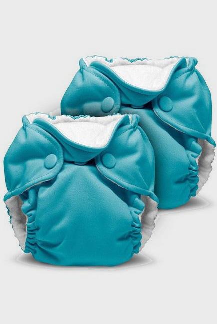 Многоразовые подгузники для новорожденных Lil Joey Kanga Care, Aquarius - 2шт.