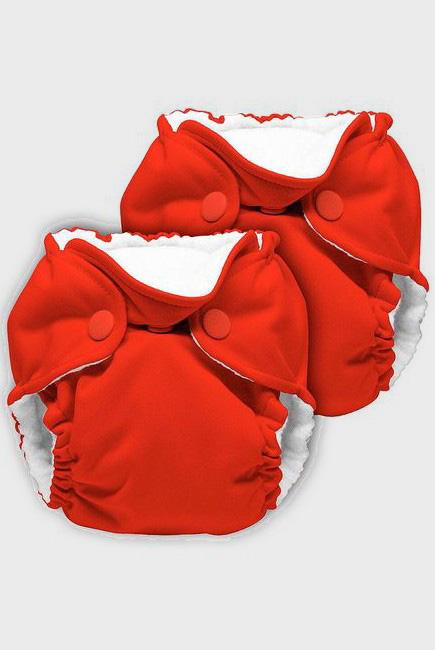 Многоразовые подгузники для новорожденных Lil Joey Kanga Care, Crimson - 2шт.