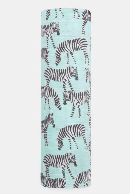 Муслиновая пеленка для новорожденных Aden&Anais, Mod Zebra