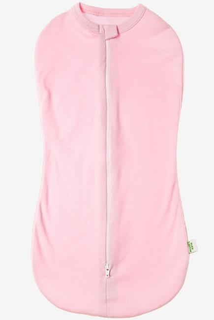 Пеленка-кокон для новорожденных трикотажный, розовый