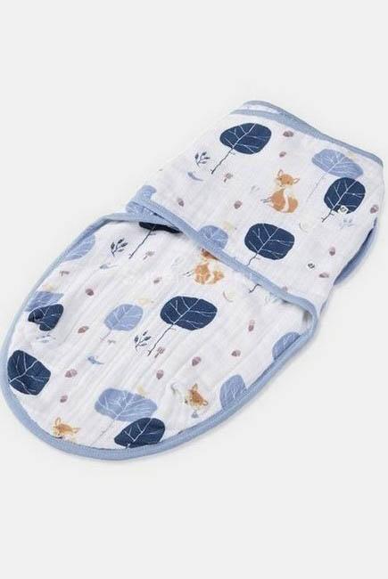 Муслиновая пеленка для новорожденных Aden&Anais на кнопках, Into The Woods