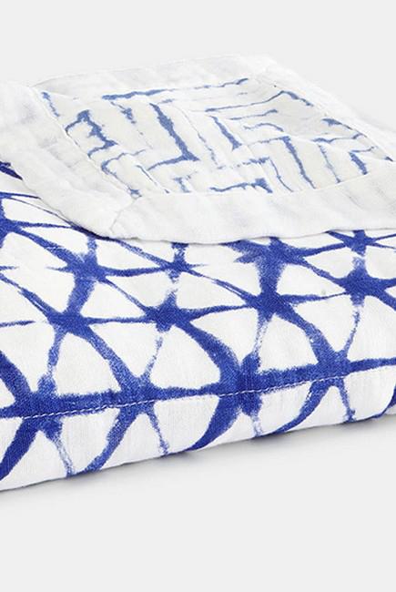 Бамбуковое одеяло Aden&Anais, Indigo