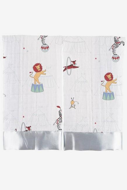 Муслиновые пеленки для новорожденных Aden&Anais маленькие, Vintage Circus