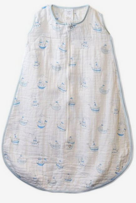 Спальный мешок SwaddleDesigns Blue Little Ships