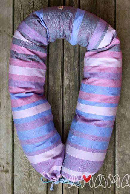 """Подушка для беременных и кормящих """"Путешественница"""", фиолетовый"""