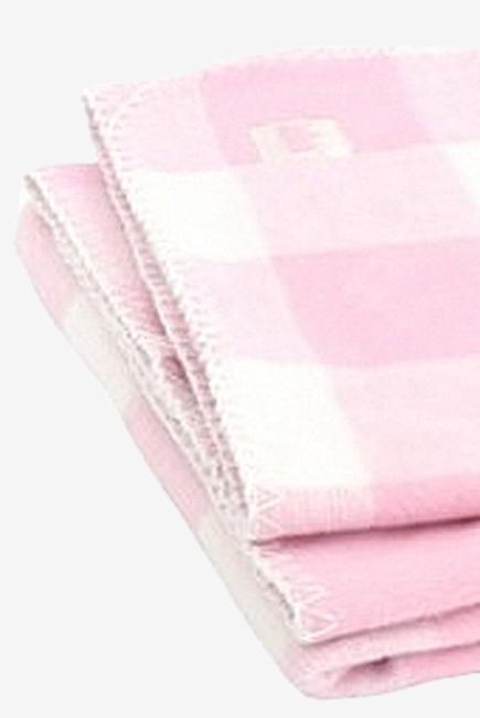 """Плед для новорожденных, цвет """"Pink Check"""""""
