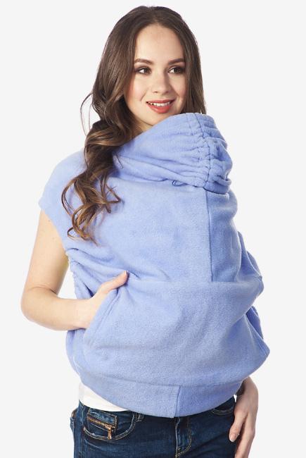 Слингонакидка флисовая Agata, голубой