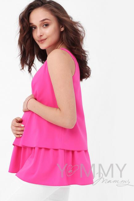 Топ для кормящих и беременных, цвет фуксия