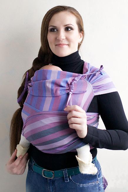 Май-слинг Tabatai фиолетовые полоски