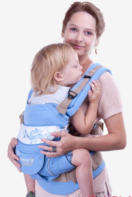 Эрго-рюкзак My Baby Style, голубой