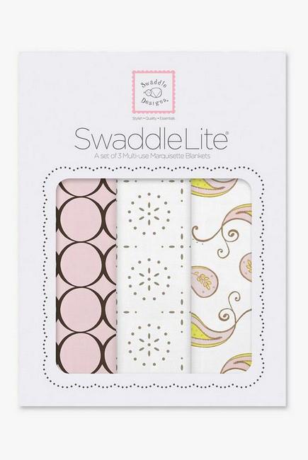 Набор пеленок SwaddleDesigns SwaddleLite Modern Pink