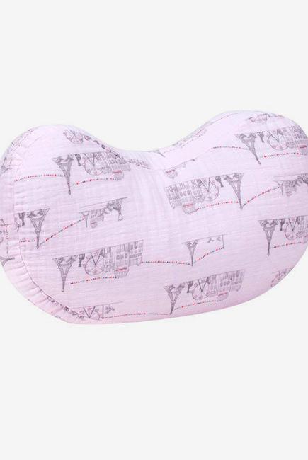 Подушка для кормления Bebe Au Lait, Carousel Pink