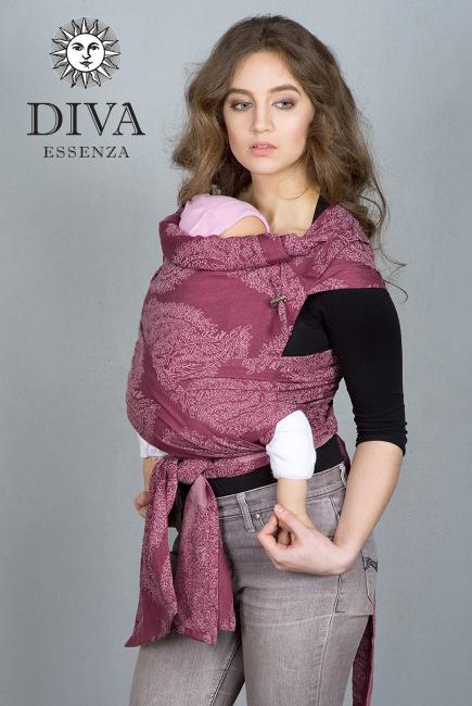 Май-слинг для новорожденных Diva Essenza, Berry с бамбуком