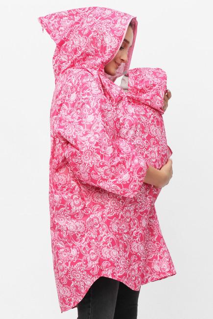 Слингодождевик розовые узоры