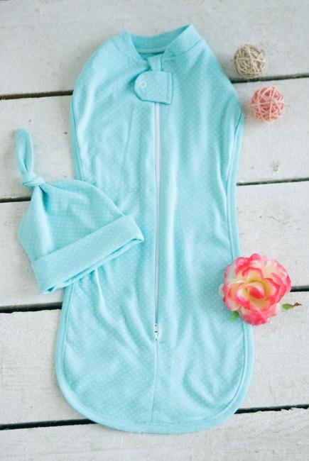 Пеленка на молнии (кокон) для новорожденных, Tiffany