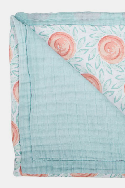 Муслиновое одеяло с бамбуком Bebe au Lait, Fresco and Lagoon