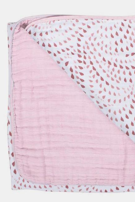 Муслиновое одеяло Bebe au Lait, цвет Quartz and Petal