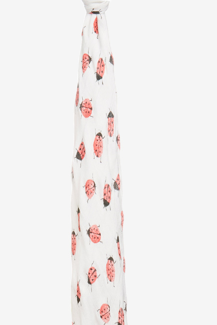 Бамбуковая пеленка для новорожденных Aden&Anais большая, Lucky Field Lady