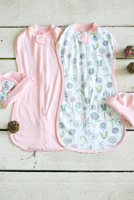 Комплект пеленок-коконов для новорожденных, Puffy