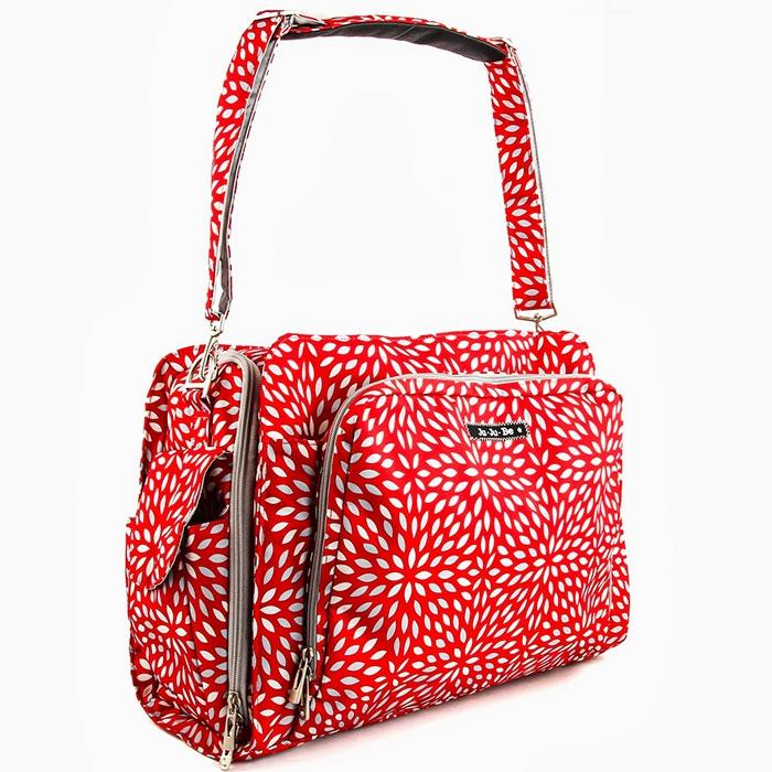 Дорожная сумка или сумка для двойни Ju-Ju-Be Be Prepared Scarlet Petals