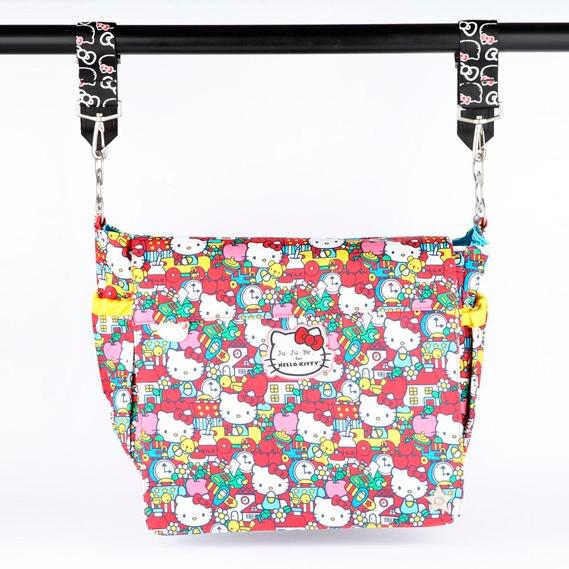 Крепления для колясок к сумкам и рюкзакам Ju-Ju-Be Be Connected Clips hello kitty