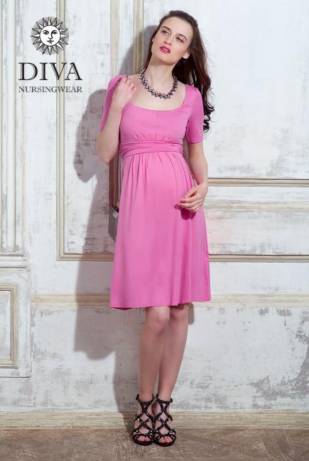 Платье для кормящих и беременных Diva Nursingwear Stella, Rose