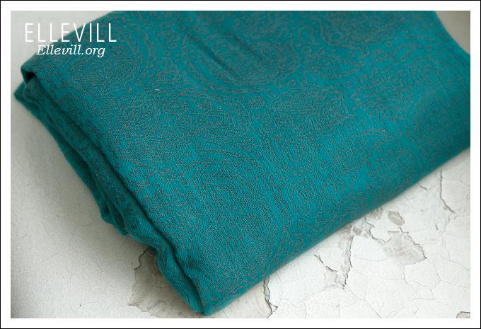 Слинг с кольцами Ellevill Paisley Smaragd