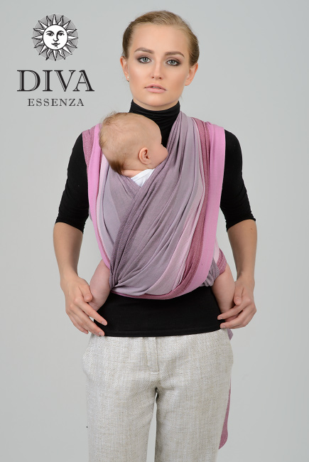 Слинг-шарф двойного диагонального плетения Diva Essenza, Zeffiro