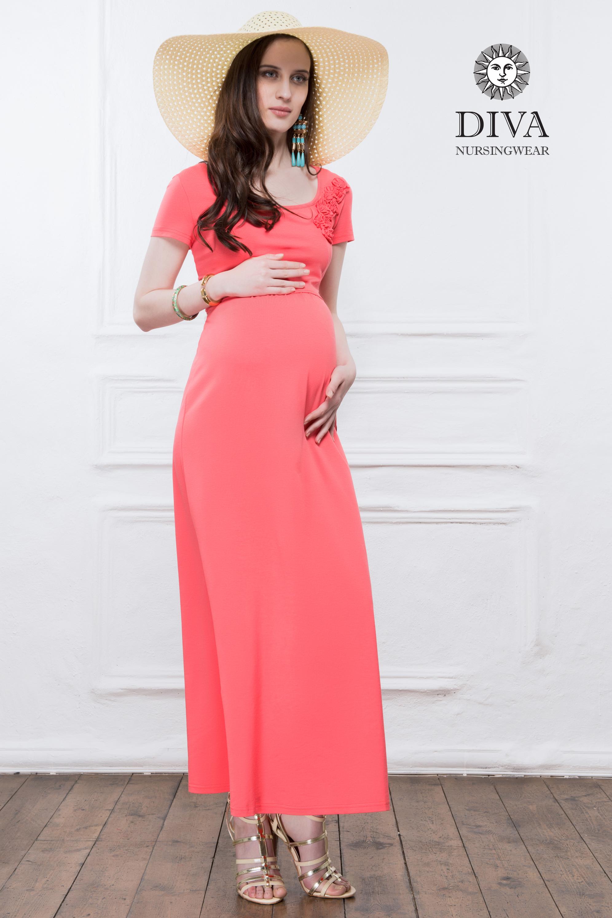 Красивые летние платья для беременных