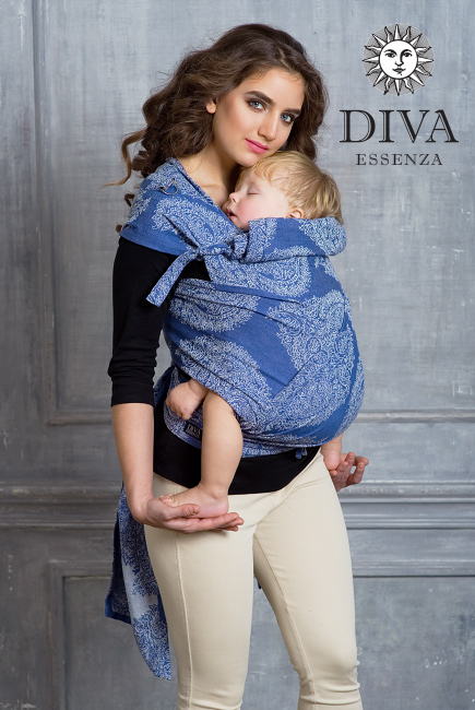 Май-слинг Diva Essenza, Azzurro Toddler