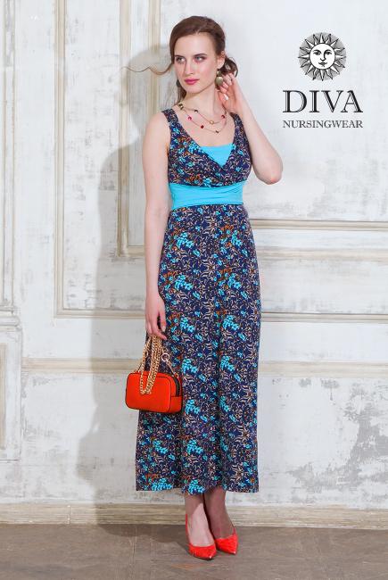 Сарафан для кормящих и беременных Diva Nursingwear Alba Maxi, Primavera