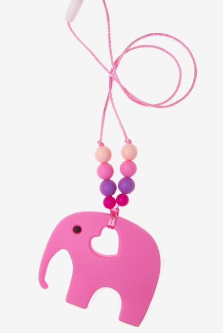 Слингобусы с прорезывателем Сафари, розовые