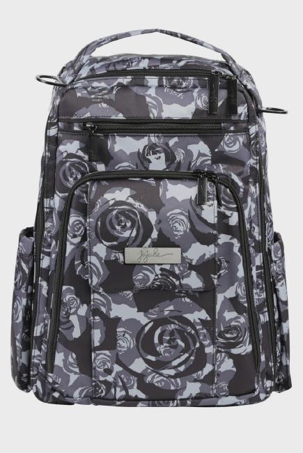 Рюкзак для мамы Ju-Ju-Be - Be Right Back, Onyx Black Petals