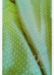 "Слинг-шарф YammyMammy (yummy mammy) тканый, цвет ""салатовый/коричневый"""