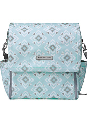 Сумка для мамы Petunia Boxy Backpack: Sleepy San Sebastian