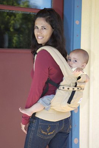 На фото рюкзак–слинг  «ЭРГО» (ERGO)