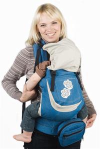 слинг-рюкзак «Я ЛЮБЛЮ МАМУ»( I loveMum )