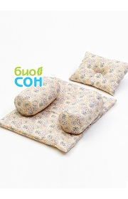 """Подушка для новорожденных BabySet (позиционер) """"Нежность"""""""