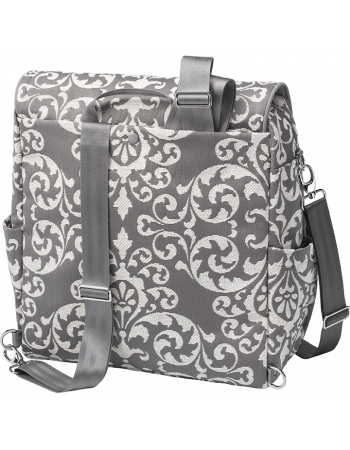Boxy Backpack: Earl Grey