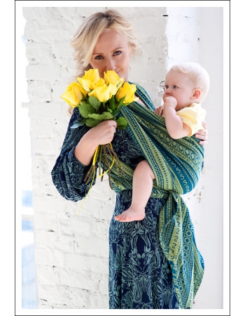 Слинг-шарф Ellevill Zara Lemongrass