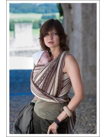 Слинг-шарф Ellevill Zara Tricolor Sandstorm