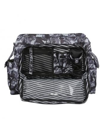 Дорожная сумка для мамы или сумка для двойни Ju-Ju-Be Be Prepared, Onyx Black Petals