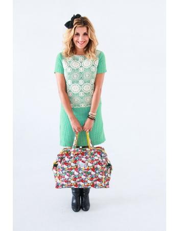 Дорожная сумка для мамы или сумка для двойни Ju-Ju-Be Be Prepared, Hello Kitty Tick Tok