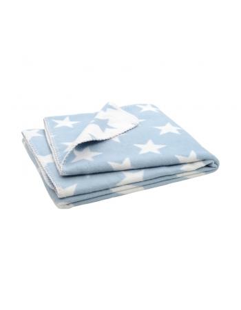 """плед для новорожденных, цвет """"Star blue"""""""