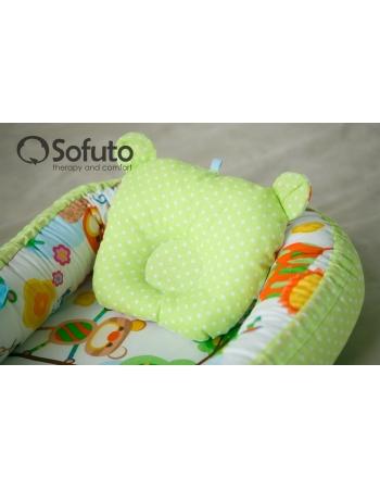 Кокон-гнездышко для новорожденных Sofuto Babynest Animals