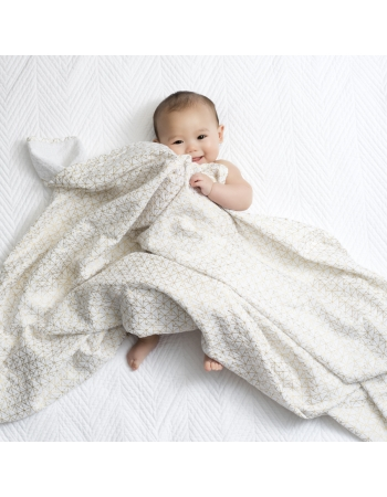 Муслиновые пеленки для новорожденных Aden&Anais мерцающие большие, набор 3, Metallic Gold Deco