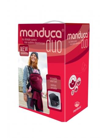 Эрго-рюкзак Manduca Duo, цвет красный (red)